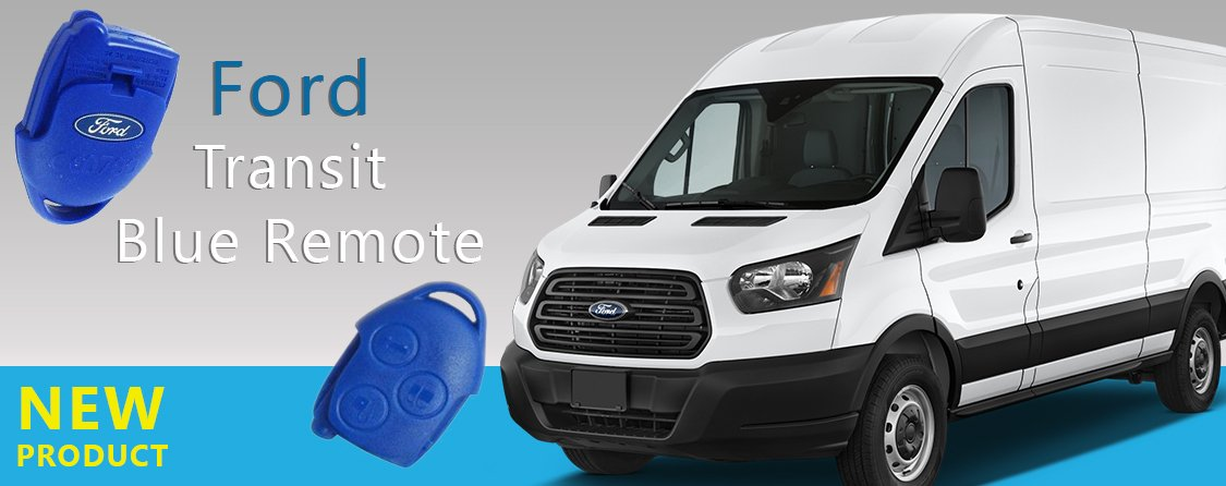 New product Ford Transit remote