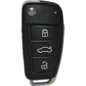 Audi A6, Q7 3 Button Flip remote 868 MHZ 8E 2004-2015 Premium Quality