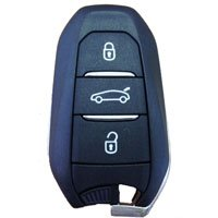 Peugeot 2008 308 508 smart key 3 button premium quality remote